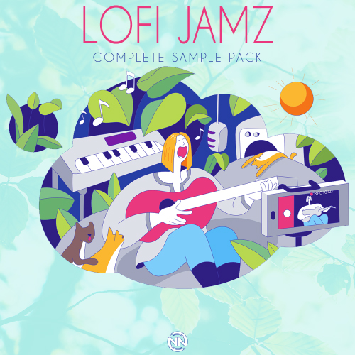 Lofi Jamz - Complete Sample Pack